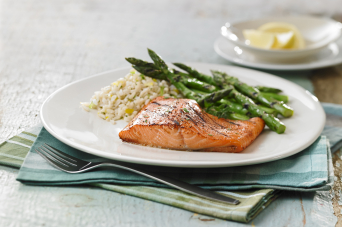 Recipe - Honey grilled salmon and asparagus